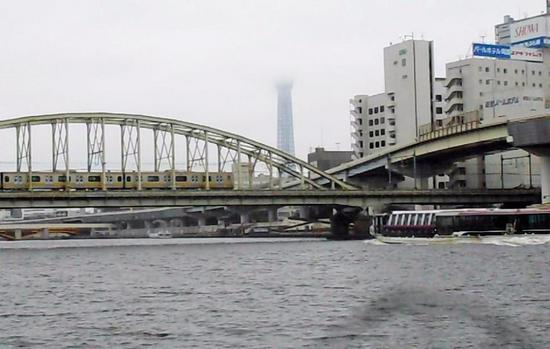 #10両国橋&総武線鉄橋(下流から)B1052動画651.jpg