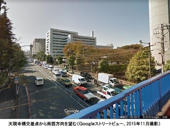 %07天現寺橋交差点から南西方向を望む07C.jpg