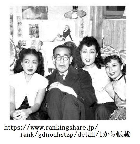 &18永井荷風・踊り子に囲まれる.jpg